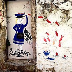 Fisherwoman, Porto.