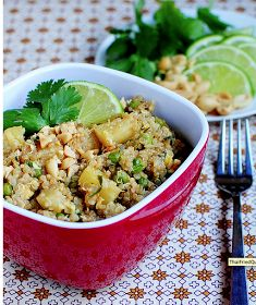 MOM IS IN THE KITCHEN: Thai Fried Quinoa
