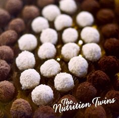 Oreo No-Bake Mint Balls | These are INSANE! | Delish and ONLY 95 calories | Or dip in chocolate for a few more calories |  For MORE RECIPES like this please SIGN UP for our FREE NEWSLETTER www.NutritionTwins.com