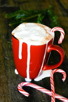 15 Peppermint Drink Recipes...some with alcohol, like peppermint schnapps, and some non-alcoholic.
