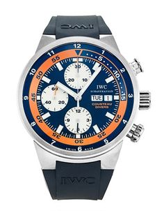 IWC Aquatimer Automatic Chronograph Cousteau Divers 2007 on sale. on sale,High quality Cheap replica luxury watches online. Iwc Watches, Sport Watches, Iwc Chronograph, Mens Skeleton Watch, Iwc Pilot, Mens Dress Watches, Limited Edition Watches, Automatic Watches For Men, Watch Companies