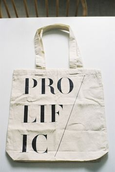 prolific tote for little paper planes by fieldguided, via Flickr