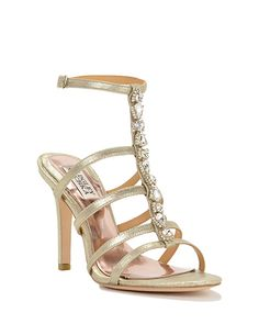 Elect-II evening shoes by Badgley Mischka, now available at the official website. Free shipping, exchanges, and returns.