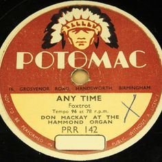 "First and Big Auction 78rpm in 2017 Come in & find out :-)     !!! Startprice only 1,99 Euro !!! Worldwide shipping !!!     DON MACKAY ""Any Time & Wheel of Fortune"" POTOMAC 78rpm 10"""