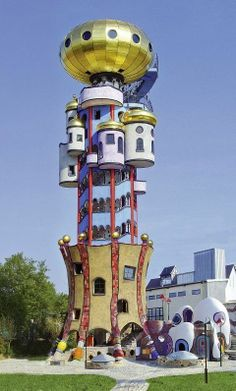 Hundertwasser, a visionary, Germany