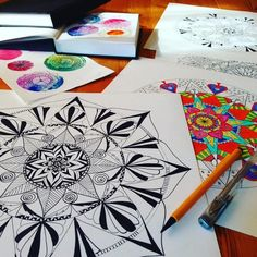 Draw a Mandala and get a personal reading