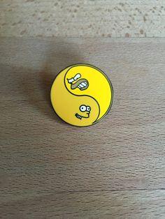 """Stugazi """"Ying Yang Twins"""" Pin #Pin #Stugazi #Simpsons"""