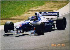 Jacques Villeneuve Williams Renault FW19 F1. 1997 British GP Test Silverstone