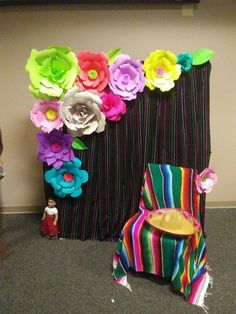 Made this for my sons Mexican themed grad party. Mexican Birthday Parties, Mexican Fiesta Party, Fiesta Theme Party, Grad Parties, Mexico Party, Mexican Party Decorations, Quinceanera Party, Party Time, Baby Shower