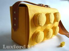 Building Block Satchels - The LEGO Bag by Luxford St. is Practical Geeky Chic (GALLERY)