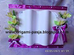 www.origami-pasja.blogspot.com: Księga okolicznościowa - prezent.
