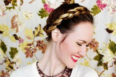 Braided Crown- French Braid Style