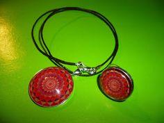 Kedy kreatív termékek: Piros mandala szett