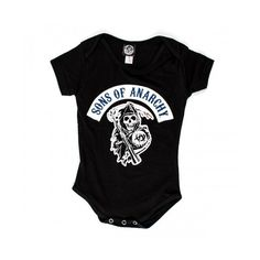 Sons of Anarchy Rocker Reaper Creeper Shows ❤ liked on Polyvore featuring baby clothes, kids, sons of anarchy and baby
