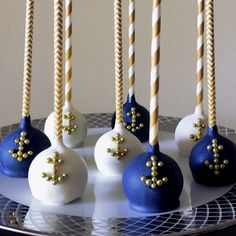 Image result for nautical cake pops