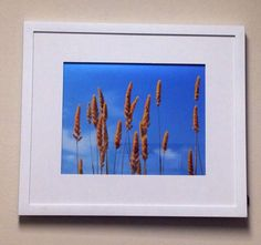 Blue Skies I Framed Photo  on Etsy, $35.00