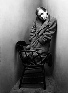 Truman Capote photographed in New York by Irving Penn, c. 1948.