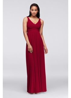 Long Mesh Dress with Cowl Back Detail F15933