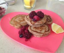 Breakfast Buckwheat and Spelt Pancakes | Thermomix just made them and were delish...