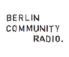 Berlin Community Radio
