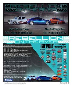 Must attend Car Show & Racing only a month away!