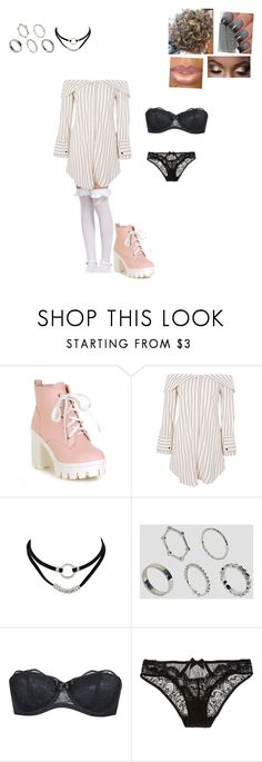 """Cute Date"" by mrsminana95 on Polyvore featuring Topshop, ASOS, Agent Provocateur and L'Agent By Agent Provocateur"