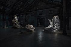 Zhang Huan, Sydney Buddha, 2015.