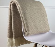 Pure New Wool Soft, Warm & Fluffy Blanket - Light & Glory Hampstead Blanket #londonblankets #lightandglory #purewool #loveoursheep