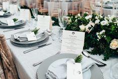 Hannah & Owen Hannah Owens, Wedding Gallery, Reception, Romantic, Table Decorations, Romance Movies, Romantic Things, Dinner Table Decorations, Romance