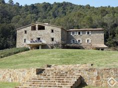 Exquisite luxury Girona country estate to buy in the stunning countryside surroundings of La Garrotxa, just a few minutes from the attractive medieval town of Besalú Rustic Houses, Medieval Town, Country Estate, Luxury Real Estate, Home Buying, Property For Sale, Countryside, Mansions, House Styles