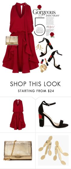 """Smokin' Hot: Summer Date Night"" by shortyluv718 ❤ liked on Polyvore featuring Finders Keepers, Michael Kors, J.Crew, Giorgio Armani and summerdatenight"