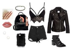 Black Model by darya-komarova on Polyvore featuring мода, Club L, Anine Bing, 275 Central, Kendra Scott and Lime Crime