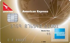 credit cards with qantas frequent flyer points