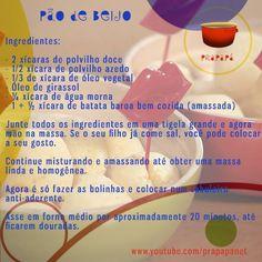 Pão de Batata Baroa (ou Mandioquinha) Link: https://youtu.be/p9tG60mMOmo