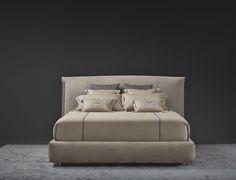 Amal http://www.flou.it/it/collections/novelties2017 #home #homedesign #design #bed #bedroom