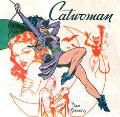 Cat woman! #vintage #comics www.junkfoodclothing.com