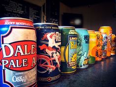 Craft beer in cans!