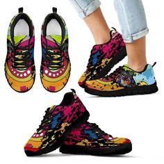 Rottweiler Design Kids Sneakers - Dean Russo Art