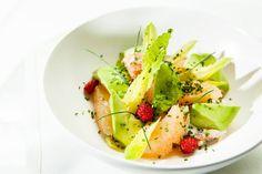 SHANGRI-LA HOTEL, PARIS     Terrasse La 8 Iéna – Salade de Crabe et Pamplemousse rose  •  Ma Sérendipité