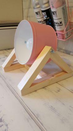19 new ideas diy table lamp tutorials ideas Diy Décoration, Easy Diy, Diy Projects To Try, Wood Projects, Diy Table, Table Lamp, Diy Deco Rangement, Luminaria Diy, Diy Luminaire