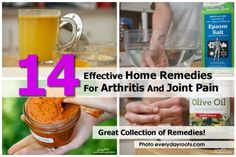 14 Effective Home Remedies For Arthritis And Joint Pain