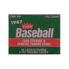 1987 Fleer Update Baseball Factory Sealed Set with Greg Maddux and Mark McGwire Rookie Cards . $6.95. Buy this set now as Mark McGwire becomes eligible for the hall of fame and the price is sure to go up as this set has his rookie card in it! Not to mention Greg Maddux rookie card included too!