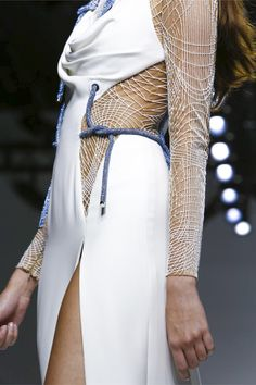 Versace Atelier Fashion Show Couture Collection Spring Summer 2016 in Paris
