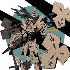 「蜂蜜戦記リボーン」/「hirobee」のイラスト [pixiv] Armored Core, Nagano, Chivalry, Beautiful One, Gundam, Science Fiction, Fighter Jets, Sci Fi, Character Design