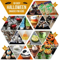 18 Easy Halloween Snack Ideas for Kids and Parties - KaelahBee.com