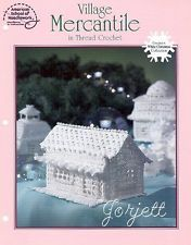 Village Mercantile, White Christmas Collection crochet pattern