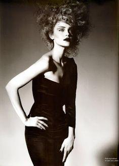 Fashiontography: Jessica Stam by Miguel Reveriego For Numero