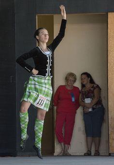 148th Scottish Highland Gathering & Games | Flickr - Photo Sharing! // Dress Lime Scott kilt with hose and black jacket