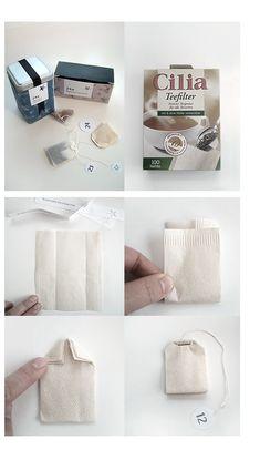 Teebeutel /Teegeschenk selber machen