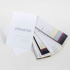 Hääkutsu, jonka materiaaliksi valittiin kotimainen ja laadukas Terreus kartonki. Painovärinä morsiamen toiveiden mukaisesti käytettiin kaunista sinistä painoväriä. #painopirttioy #letterpress #hääkutsu #wedding #weddinginvitation #kutsukortti #häät Texture, Surface Finish